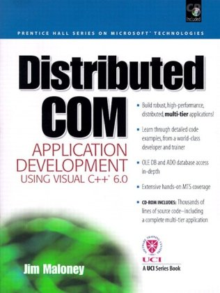 9780130848741: Distributed Com Application Development Using Visual C++ 6.0 with CDROM (Prentice Hall Series on Microsoft Technologies)