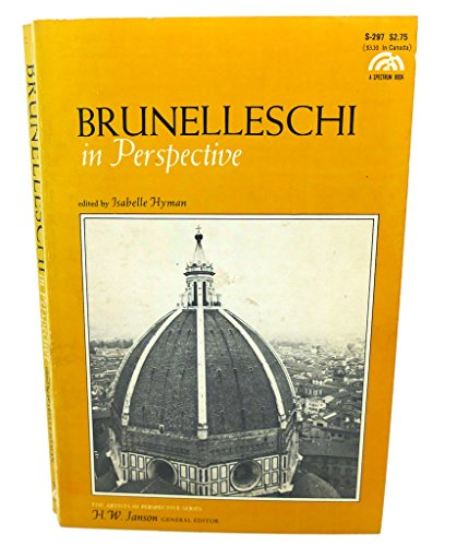 9780130848895: Brunelleschi in Perspective (Artists in Perspective)