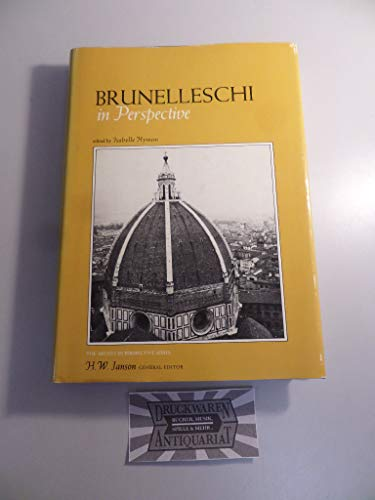 9780130848970: Brunelleschi in Perspective (Artists in perspective series)