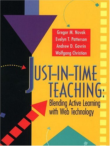 9780130850348: Just-In-Time Teaching: Blending Active Learning with Web Technology