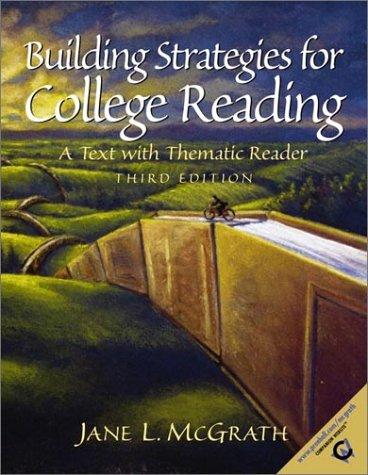 9780130850430: Building Strategies for College Reading: A Text with Thematic Reader (3rd Edition)