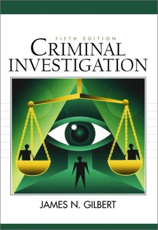 9780130852069: Criminal Investigation (5th Edition)