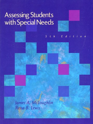 9780130852090: Assessing Students With Special Needs