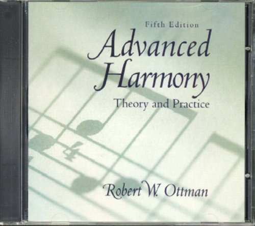 9780130856982: Advanced Harmony: Theory and Practice