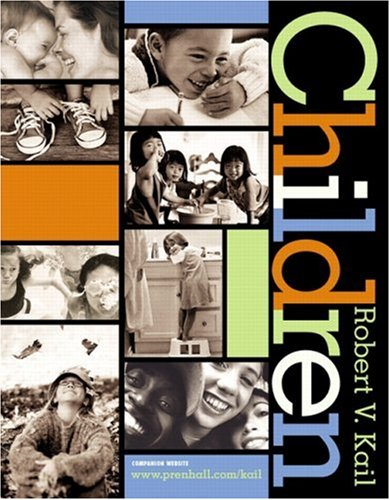 Children 9780130857637 This solid, research-oriented overview of the field of child development provides chronological coverage on the subject. The well-organized volume is designed to make it easier for students to learn with a module-based format and six different kinds of features highlighting a specific aspect of child development and child-development research fully integrated with the volume. The volume addresses foundations of child development, the physical growth, cognition, social behavior and personality of infants and toddlers, preschool children, school-age children and adolescents. For those involved with and interested in child development.