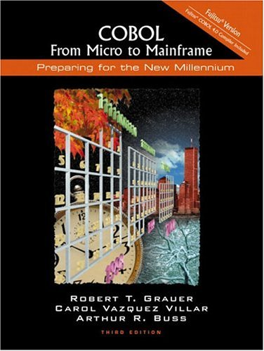 9780130858498: COBOL: From Micro to Mainframe: Fujitsu Version (3rd Edition)