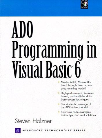 9780130858573: ADO Programming in Visual Basic 6