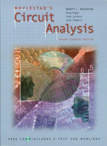 9780130858962: Boylestad's Circuit Analysis, Canadian Edition