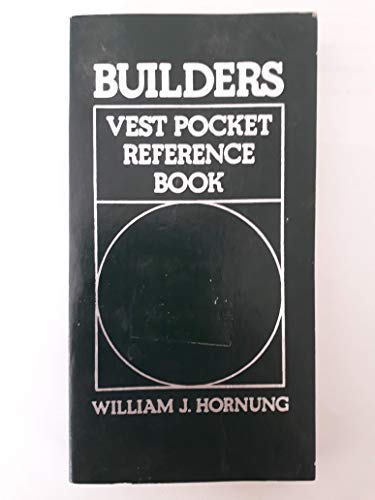 9780130859440: Builders Vest Pocket Reference Book