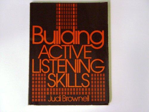 9780130859600: Building Active Listening Skills