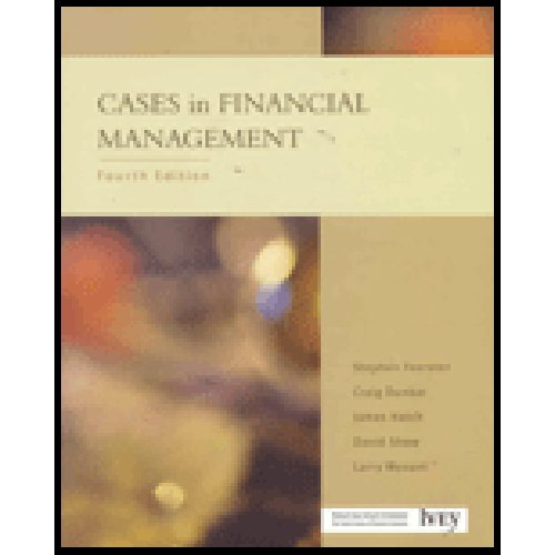 9780130860491: Cases in Financial Management (4th Edition)