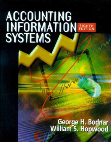 9780130861771: Accounting Information Systems (8th Edition)