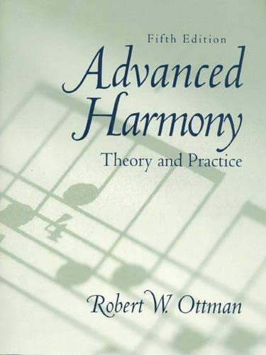 9780130862372: Advanced Harmony: Theory and Practice with CD Package (5th Edition)