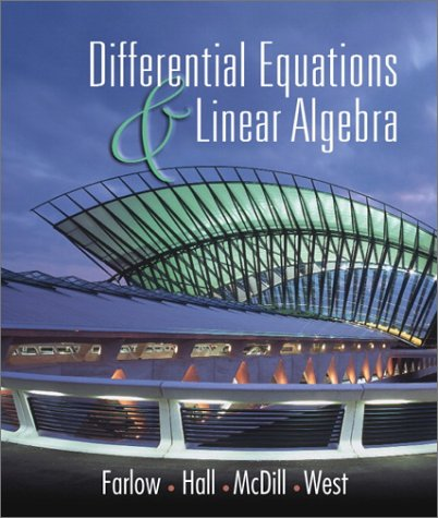 9780130862501: Differential Equations and Linear Algebra