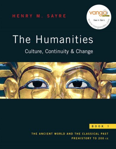9780130862624: The Humanities: Culture, Continuity, and Change, Book 1