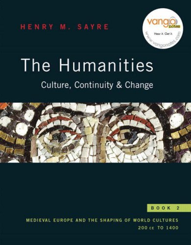 9780130862631: The Humanities: Culture, Continuity, and Change, Book 2