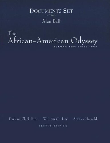 9780130862907: The African-American Odyssey Volume 2:  Since 1863
