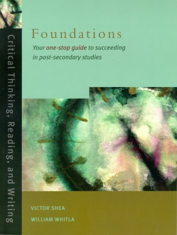 9780130863669: Foundations: Critical Thinking Reading and Writing Cdn