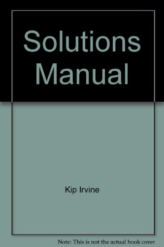 9780130864154: Solutions Manual