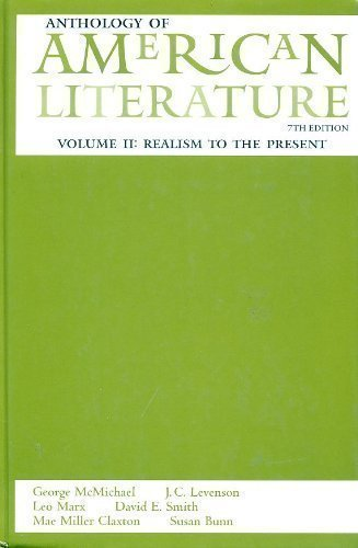 9780130864987: Anthology of American Literature: 002
