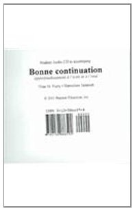 Bonne Continuation: Approfondissement Lecri (French Edition): Furry, Nina M.;