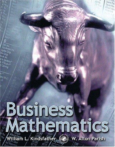 9780130866998: Business Mathematics
