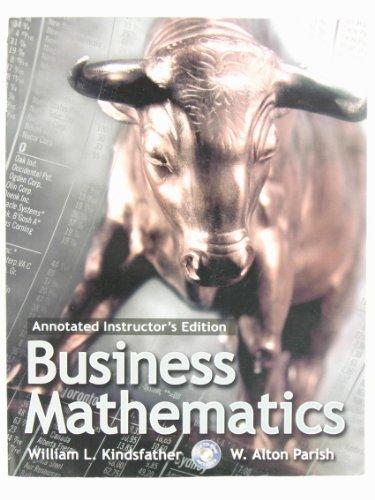 9780130867070: Business Mathematics