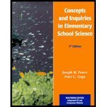 9780130867506: Concepts and Inquiries in Elementary Science