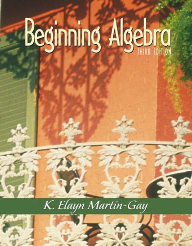 9780130867636: Beginning Algebra (3rd Edition)
