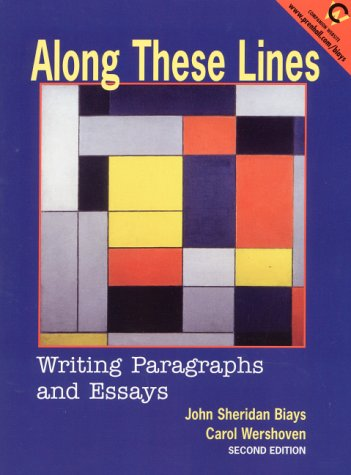 9780130868176: Along These Lines: Writing Paragraphs and Essays (2nd Edition)