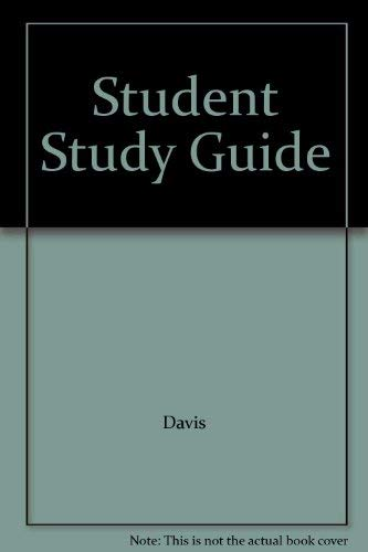 9780130868237: Student Study Guide