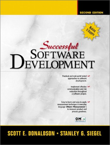 9780130868268: Successful Software Development (2nd Edition)