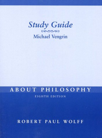 9780130868725: About Philosophy: Study Guide