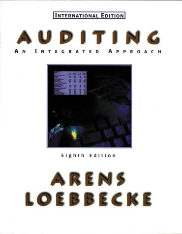 Auditing : an Intergrated Approach (8/e)