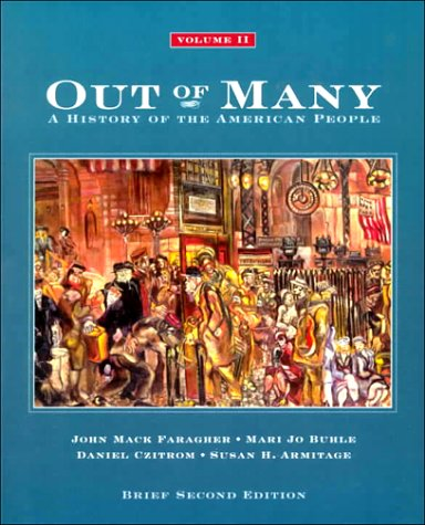 9780130869661: Out of Many: A History of the American People: Brief Edition