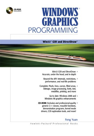 9780130869852: Windows Graphics Programming: Win32 GDI and DirectDraw (Hewlett-Packard Professional Books)
