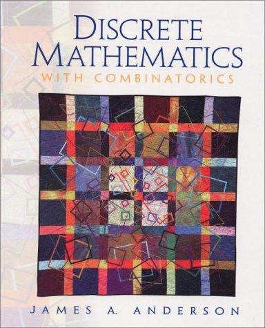 9780130869982: Discrete Mathematics with Combinatorics