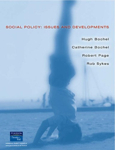 9780130870094: Social Policy: Issues and Developments
