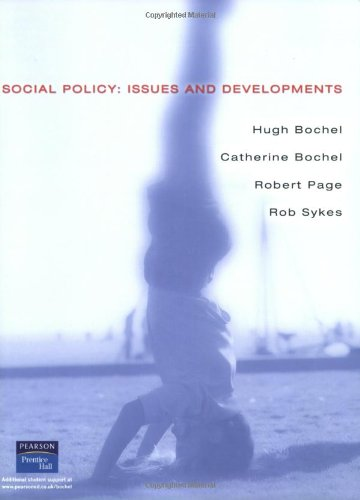 9780130870094: Social Policy: Issues & Developments in the Uk