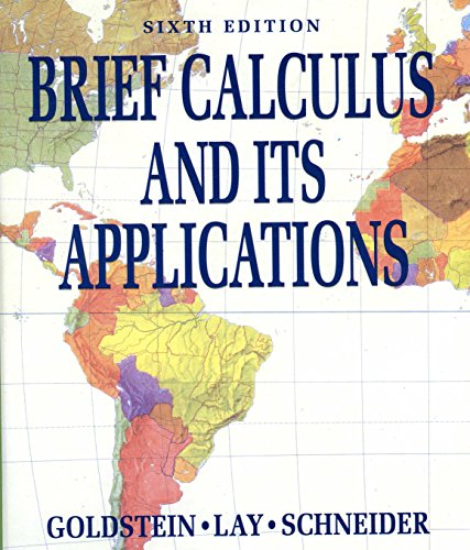9780130871312: Brief Calculus and Its Applications