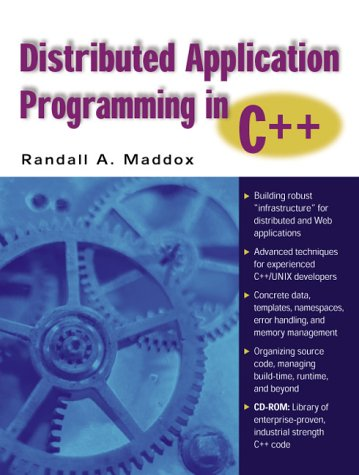 9780130871336: Distributed Application Programming in C++ (with CD-ROM)