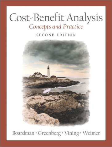 9780130871787: Cost-Benefit Analysis: Concepts and Practice (2nd Edition)