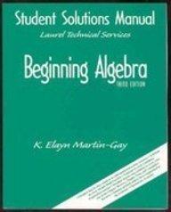 9780130872098: Beginning Algebra