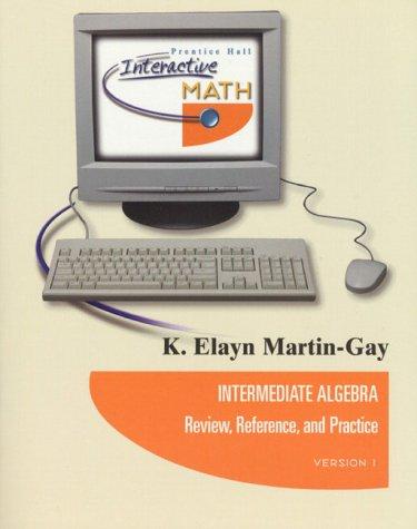 9780130872807: Pilot Interactive Math & Inter Algebra & Key & Study Pkg