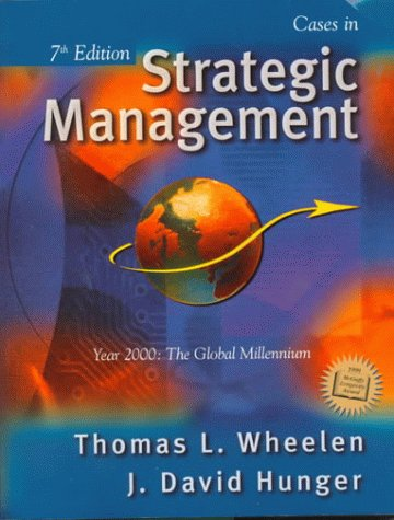 9780130872944: Cases in Strategic Management (7th Edition)