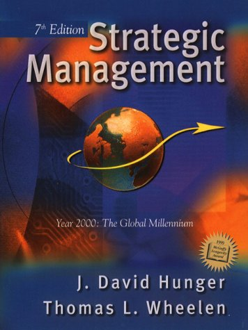 9780130872968: Strategic Management Business Policy