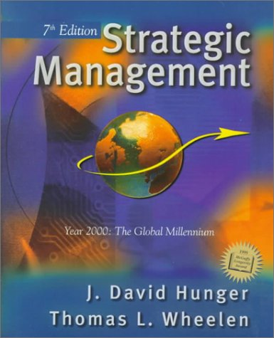 9780130872968: Strategic Management (7th Edition)