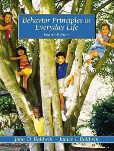 9780130873767: Behavior Principles in Everyday Life (4th Edition)