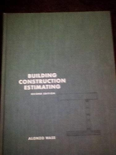 BUILDING CONSTRUCTION ESTIMATING