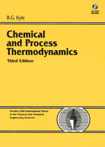 9780130874115: Chemical and Process Thermodynamics (3rd Edition)